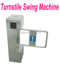 Automatic Swing Turnstile gate machine Security swing barrier safety wing barrier for people go in and out exit control free shi