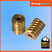 Buy 5pcs A58 Gear Motor Screw Helical Gear Metal Worm Cylindrical Gear A58 Double Shaft Worm Reducer Gearbox Gear Part 1:17 1:31 for $9.47 in AliExpress store
