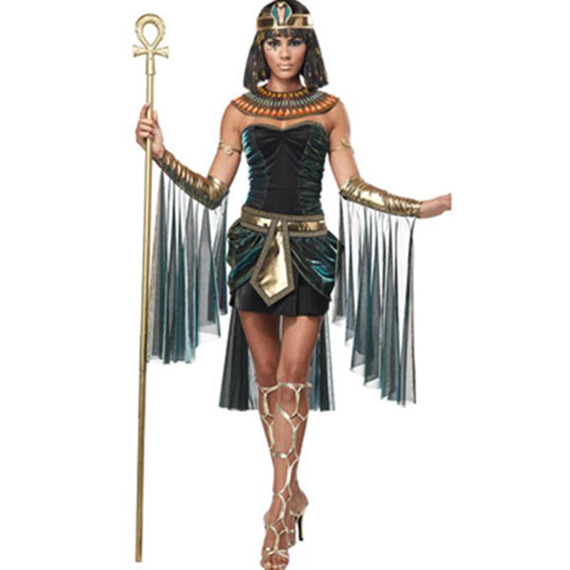 Как сделать египетский костюм клеопатры