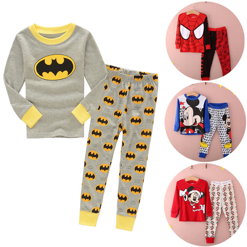 Гаджет  NEW cartoon kids pajama sets,children sleepwear boys nightwear girls family christmas pajamas Retail toddler baby pyjamas 2t-7t None Детские товары