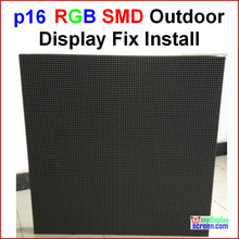 "P16 RGB outdoor led wall,  76.8cm x 76.8cm,30"" x 30"",smd new design,best effect,smd p16 led full color outdoor display screen(China (Mainland))"