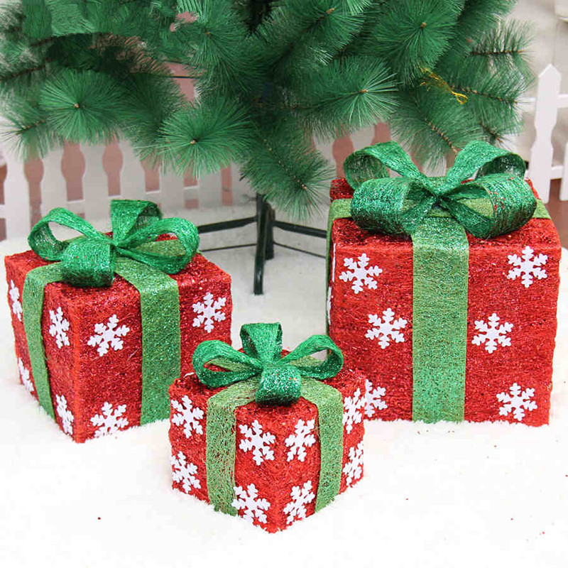 2015 new christmas decorations bowknot gift box tree for Christmas decoration suppliers