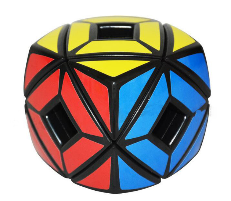 Magic Cube,challenge gift,best toys,Puzzle cube,Educational toys,bread model,Hollow Skewb,hot,new,strange-shape,Fisher Cube(China (Mainland))