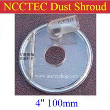 """4 """" de polvo cubierta   100 mm polvo protector para amoladora angular to connect con vacío   plástico grueso con el cepillo   proteger su salud"""