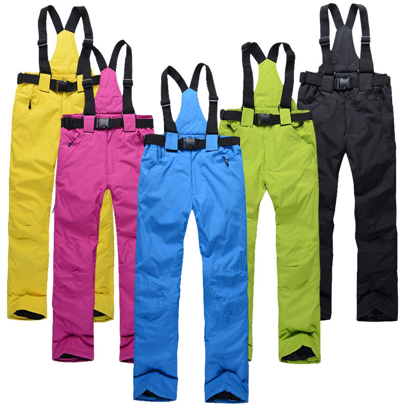 Free Shipping Outdoor Sports waterproof s snowboard pants men or women snow pants waterproof windproof warm ski pants(China (Mainland))