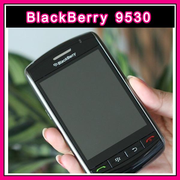 "9530 Refurbished Original Unlocked BlackBerry Storm 9530 GPS 3.0MP 3.25""TouchScreen Valid PIN+IMEI 3G Phone Free Shipping(China (Mainland))"