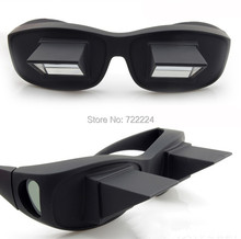 Free shipping High Quality Horizontal Lazy Glasses Reading Lying Flat Mirror Turn Page 90′ Novelty Gift
