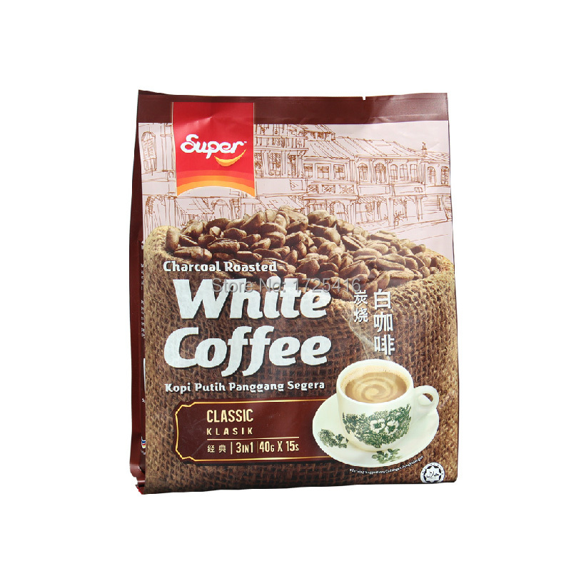 Ipoh Malaysia imported super SUPER classic grilled 600g plain white coffee triple free shipping