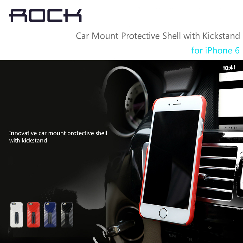 ROCK case for iphone6 car holder air vent monut adjustable mobile phone holder for iPhone 6s Car Accessories(China (Mainland))