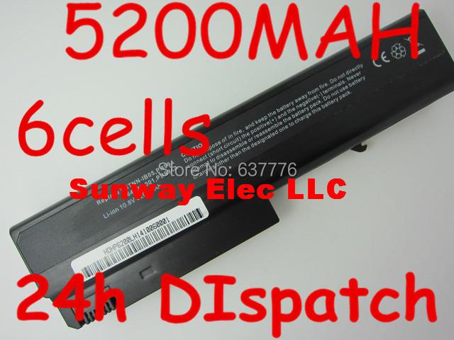 5200mah replacement laptop battery for HP Compaq 6910p 6510b 6515b 6710b 6710s 6715b 6715s NC6100 NC6105 NC6110 NC6115 NC6120(China (Mainland))