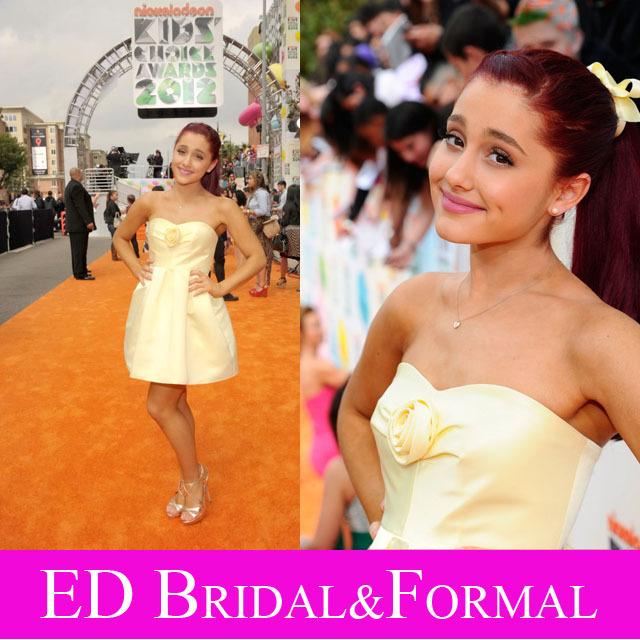 Choice awards promotion shop for promotional choice awards for Ariana grande wedding dress