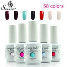 Saviland 1pcs15ml Gelpoish Nail 58 Colorful Optional UV Gel Polish Nails Esmalte Lacquer Permanent Varnishes - Professional Shop store