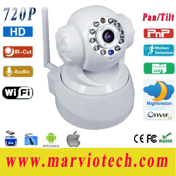 Tilt Zoom Camera ip Camera Pan/tilt Support