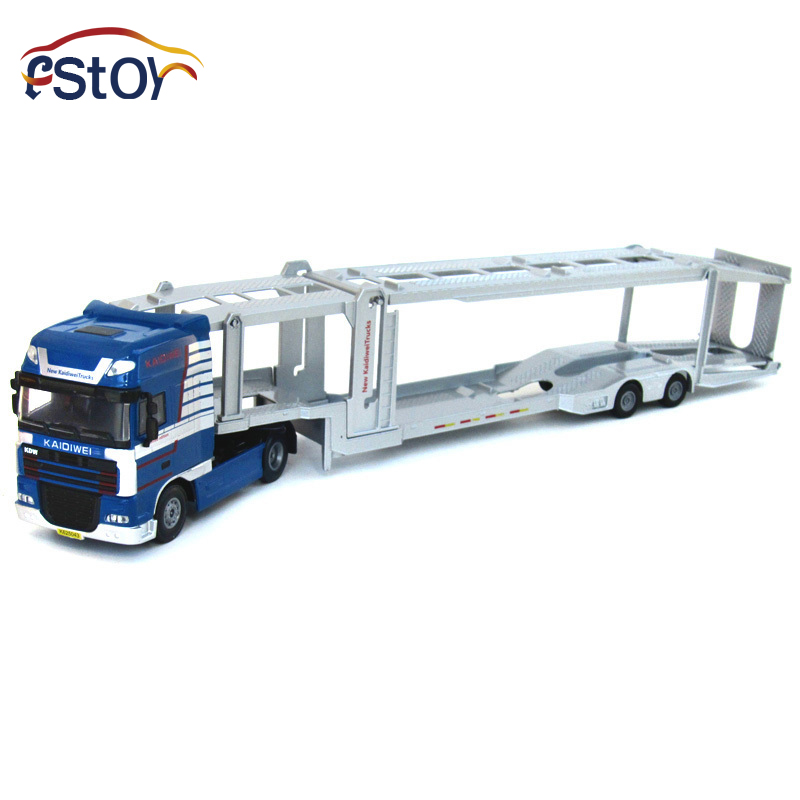 Alloy Diecast model trucks transport 1:50 Engineering car vehicle scale Truck collection gift toy(China (Mainland))