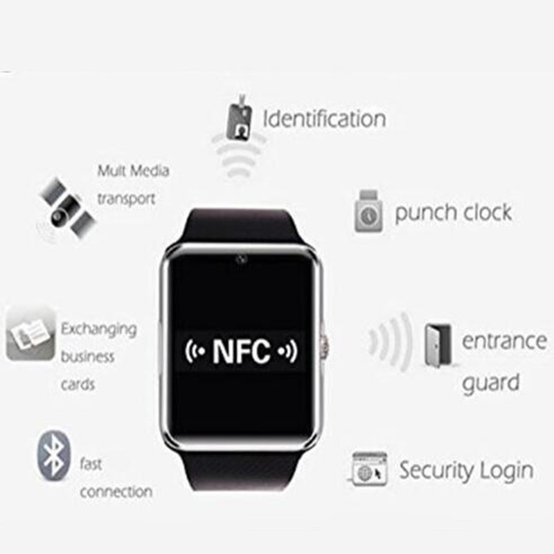 Smart Watch GT08 Clock Sync Notifier with Sim Card Bluetooth Connectivity for Apple Android Smartwatch Phone for IOS Android OS(China (Mainland))