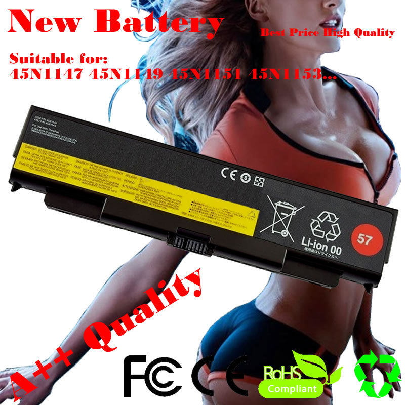 Laptop battery For Lenovo Thinkpad T440p T540P 45N1152 45N1153 W540 45N1145 45N1147 45N1149 45N1151 45N1153 L440 L540(China (Mainland))