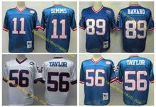 100% Stitiched,New York,Phil Simms,Harry Carson,Lawrence Taylor,Carl Banks,Mark Bavaro,Victor Cruz,Throwback fo,camouflage(China (Mainland))