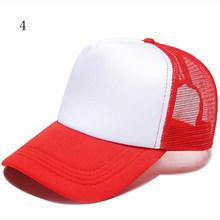 Design de LOGOTIPO personalizado Barato 100% Poliéster de Beisebol Das Mulheres Chapéu Boné De Beisebol Dos Homens Em Branco Malha Chapéu Ajustável Adulto Crianças Crianças(China)