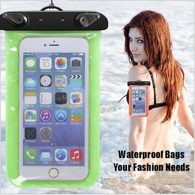 Mobile Phone Waterproof Pouch Bag Case Cover Underwater Touch Water Proof For MOTO E E2 G G2 G3 X X2(China (Mainland))