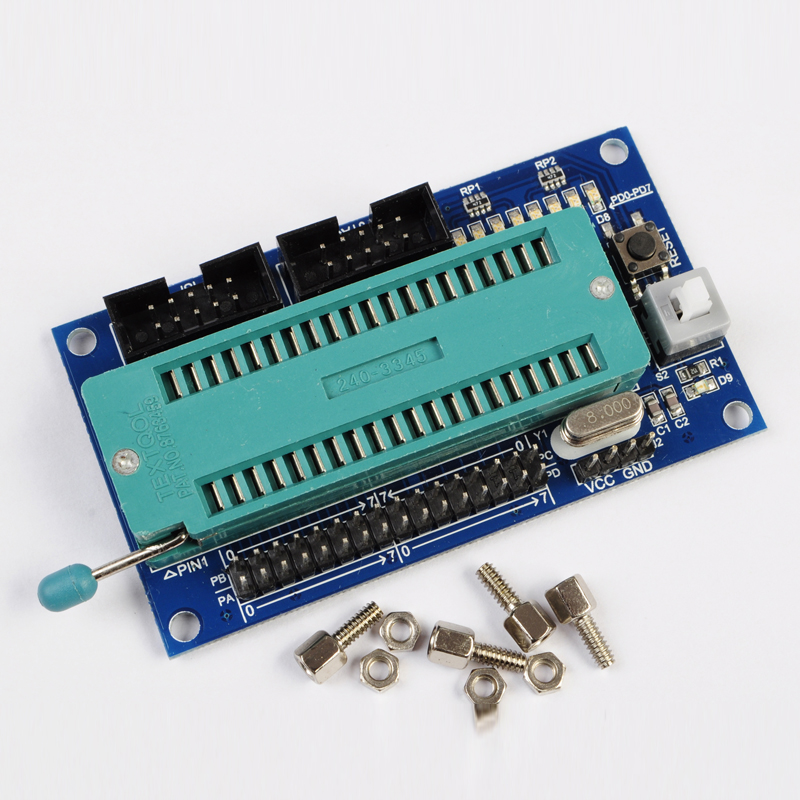 AVR Minimum System Development Board ISP+JTAG Atmega16 Atmega32 (NO Chip)(China (Mainland))