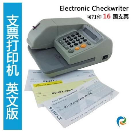 English check printer ElectronicCheckwriter Hongkong Philippines yuan Malaysia currency(China (Mainland))