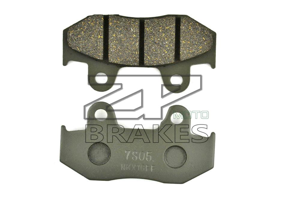 New Brake Pads Organic For Front HONDA SH 150 i8 Sporty 2008,SES 150 2 Dylan 2002-2007,PS 150 i 2007-2009 Motorcycle BRAKING(China (Mainland))