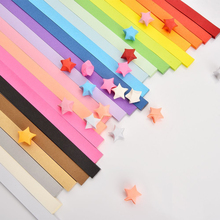 Buy 1080pcs Lucky Star Paper Handcraft Origami Paper Strips Paper Origami Quilling Paper Crafts 27 Colors Scrabooking Material for $6.39 in AliExpress store