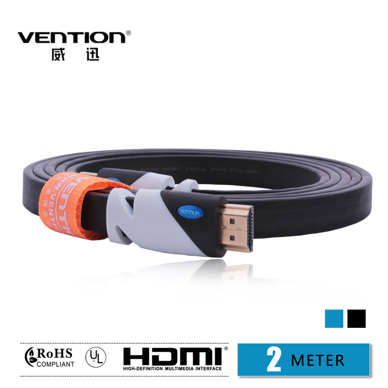 Gold-Plated High Speed HDMI Cable 2M Computer and TV cable 1.4V 1080P HD Ethernet 3D Ready HDTV HQ Cable(China (Mainland))