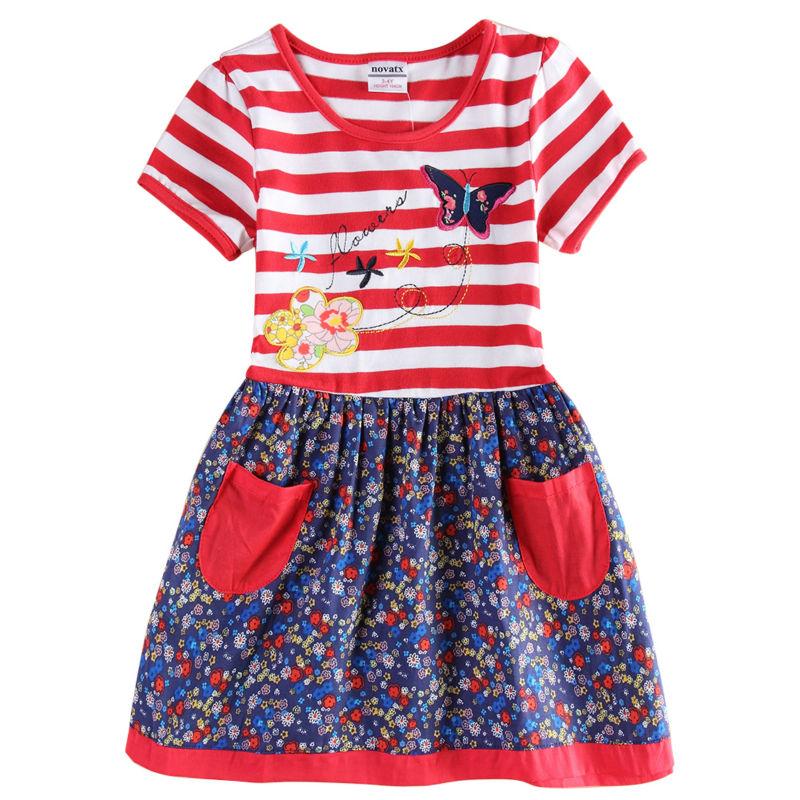 flower baby girl dress girls party princess nova brand children clothing kids clothes summer