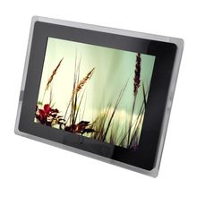 1201 High-definition 12 inch Digital Photo Frame MP3 Audio Video Photo (Black)(China (Mainland))