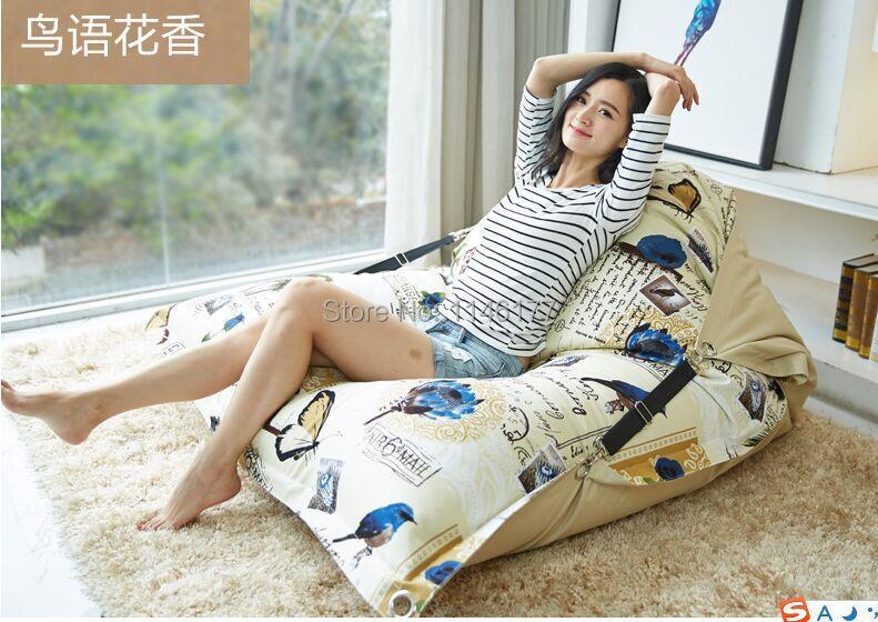 Factory Direct Custom Lazy Chair Creative Leisure Bean Bag ( filler included)Simple Ldyllic Scene Swim Spa Sofa Lazy Bones(China (Mainland))