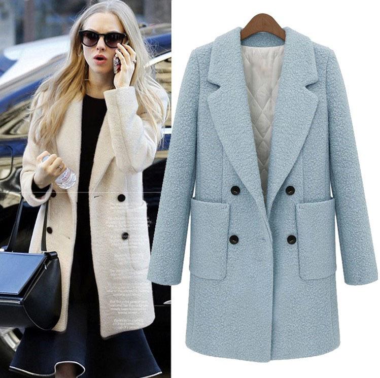 Womens Wool Winter Coats Uk - Tradingbasis