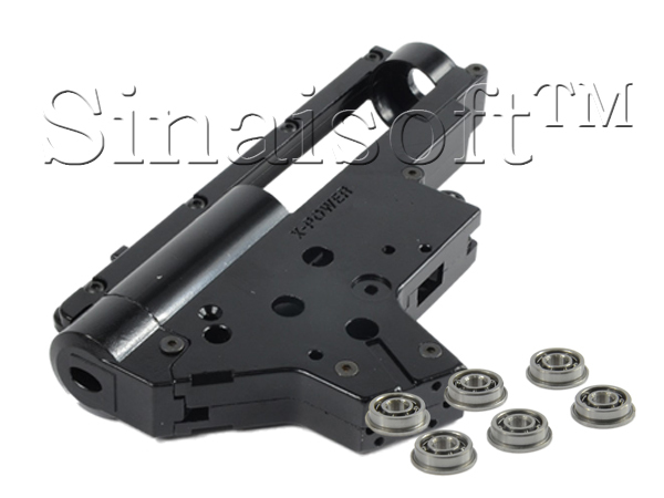 Energy 8mm Fast In Spring Enhanced Bearing Ver2 QD Quick Release Gearbox for Airsoft M4 / MP5 AEG
