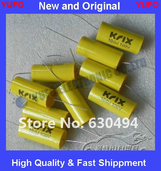 Free Shipping 1pcs KRIX 100v10uf 106j customized divide no sense of film capacitors(China (Mainland))
