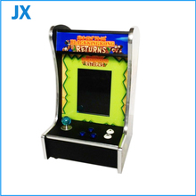 10.4 inch LCD Mini table top arcade with Classical games 60 In 1 or 520 in 1 PCB board/coin accepter/joystick/coin box/button(China (Mainland))