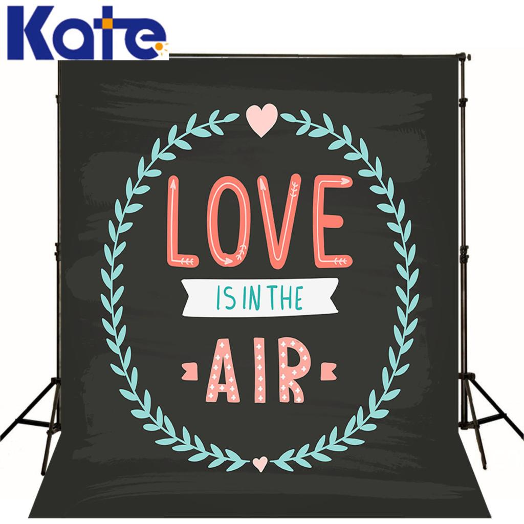 Love Hand Card Blackboard kate background Hand drawn Valentine Chalkboard Anniversary Drawing Romantic Air photography studio(China (Mainland))