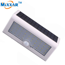 ZK40 550LM 38 LED Solar Lights Lamps Outdoor Garden PIR Motion Sensor Garden Lamp Yard Wall Bulb Garage Lamp IP65 Waterproof