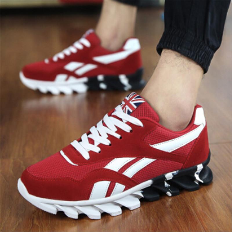 Fashion casual shoes men trainers shoes breathable zapatillas sport men shoes flat jogging shoes canvas(China (Mainland))
