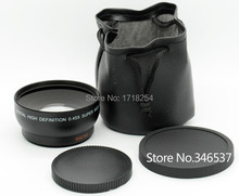 52mm 0.45X Professional Super Wide Angle + Macro Conversion Lens 52 0.45X For Nikon Canon Sony Camera(China (Mainland))