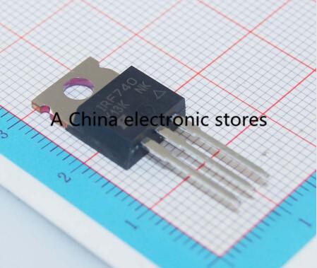 Гаджет  10PCS IRF740PBF IRF740 N-Channel Power Mosfet 400V 10A TO-220 None Электронные компоненты и материалы