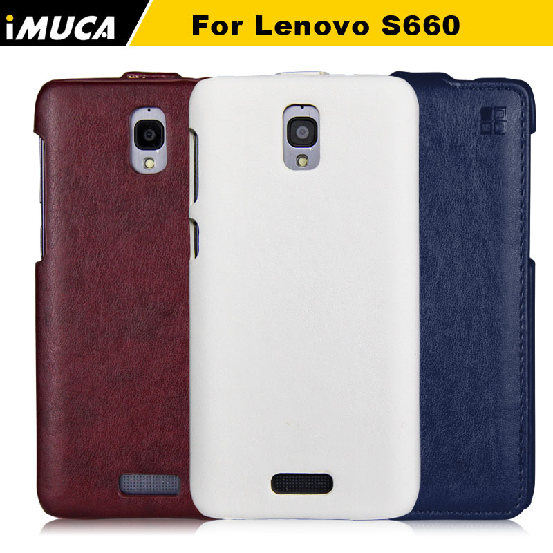 for Lenovo S660 Case,Fashion Leather Flip Case for Lenovo S660 Original Brand Phone Cases Covers with Original Retail Box(China (Mainland))