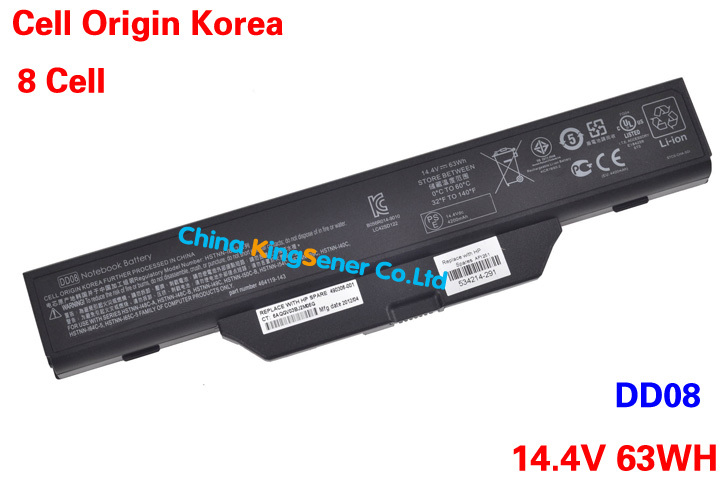 Korea Cell New Laptop Battery For HP Compaq 510 550 610 6720s 6730s 6735s 6820s 6830s HSTNN-IB62 HSTNN-OB62 DD08 DD06 8CELL 73WH<br><br>Aliexpress