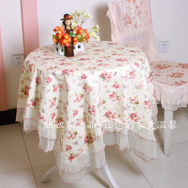 78 tuberose gremial dining table cloth multi-purpose towel table cloth a variety of measurement double layer