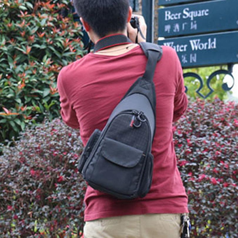 Camera Shoulder Bag Backpack Chest Bag For Nikon DSLR D7200 D7100 D7000 D5300 D5200 D5100 D5000 D3300 D3200 D3100 D750 D810 D90<br><br>Aliexpress