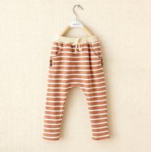 2016 Autumn hot sale kids harem pants new style fashion cotton boy girls pants baby harem pants 1-8 year 2 colors children pants(China (Mainland))
