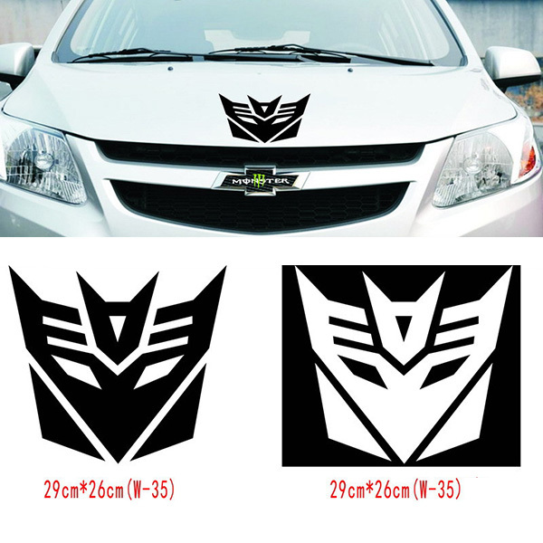 Cool Car Sticker Exterior Accessories Sticker On Car For Chevrolet Cruze For Ford Focus 2