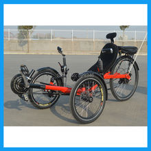 250watt 36V 10Ah Electric Tadpole Recumbent Tricycle(China (Mainland))
