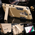 G4 Hard Capa Dual Layer Hybrid Stand Holder Phone Case For LG G4 Optimus H815 H810