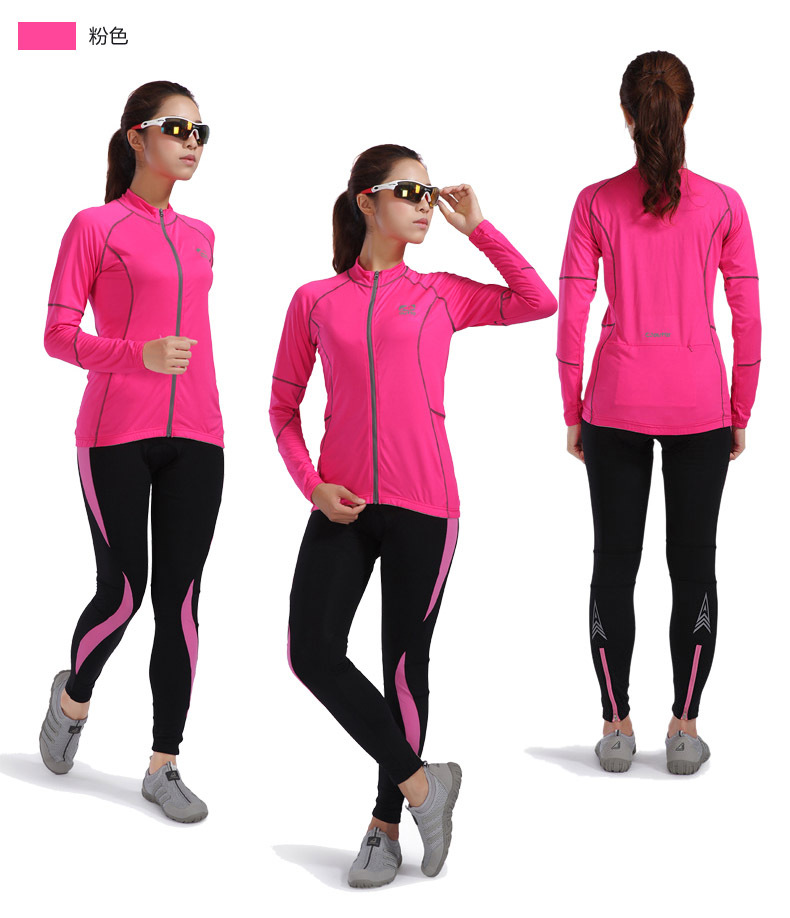 2015 girls Cycling Bike Bicycle jacket Clothing Coat Clothes Athletic Brand wear Outdoor Sports women Running Jacket(China (Mainland))
