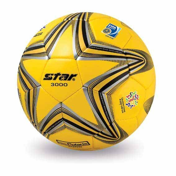 Free shipping! High quality Match use Star Soccer Ball/Football Size 5 SB145-05 New Polaris 3000  Gift: gas pin,net bag,backpack